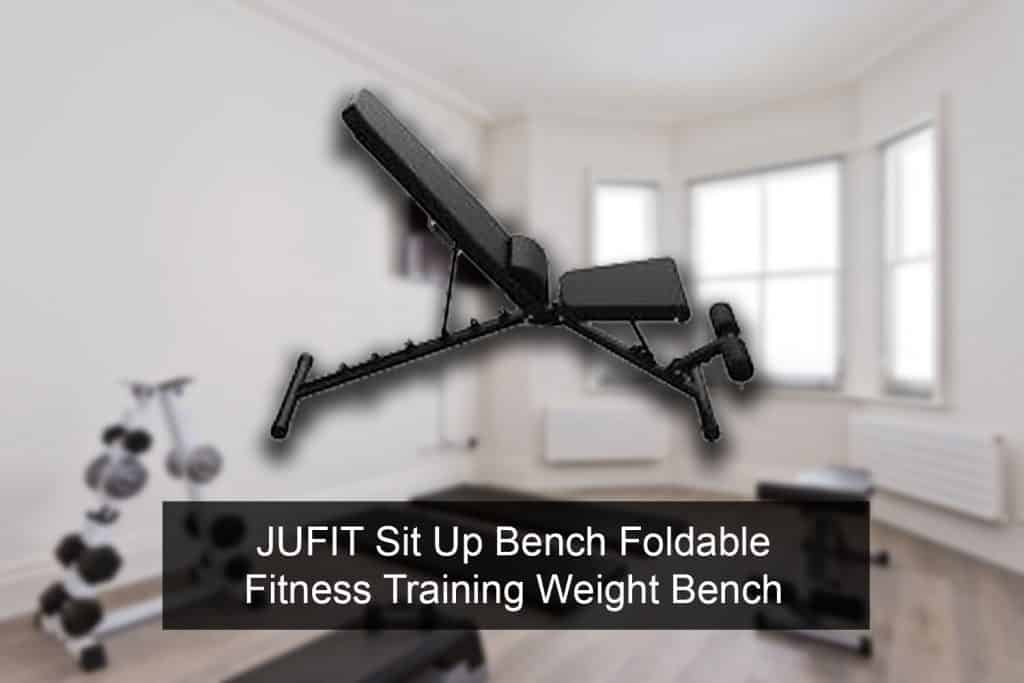 JUFIT Sit Up Bench Foldable Fitness Training Weight Bench release