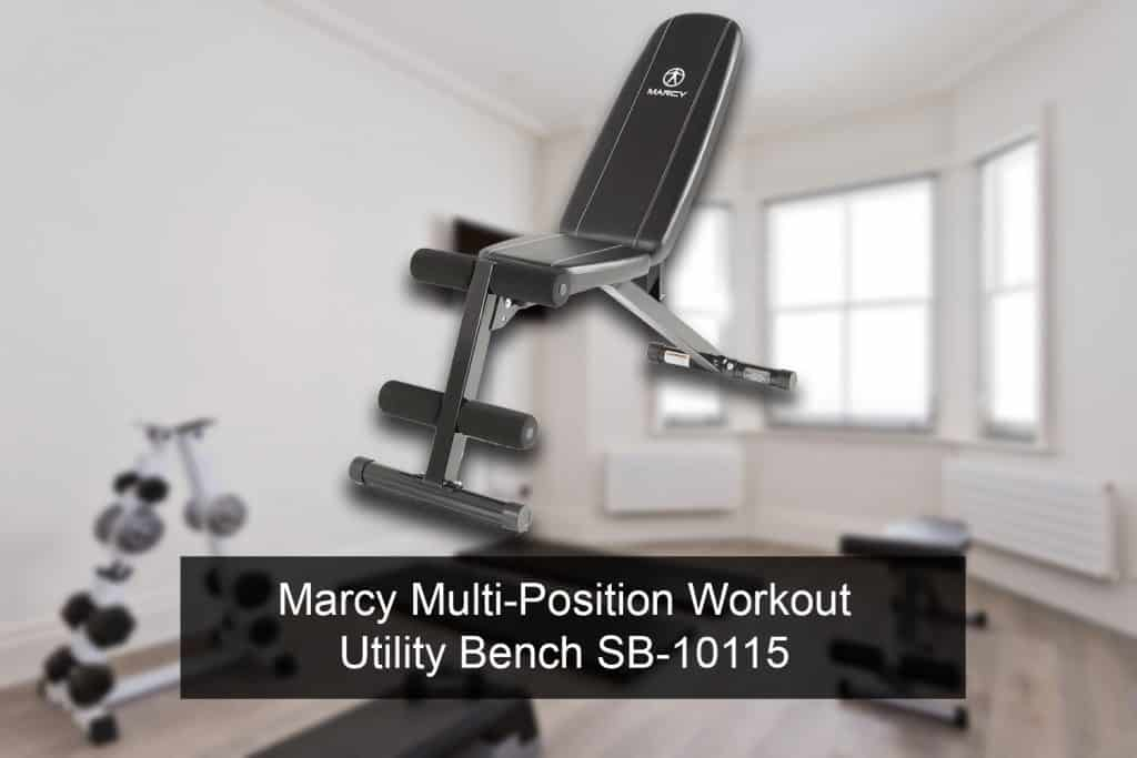 Marcy Multi-Position Workout Utility Bench SB-10115