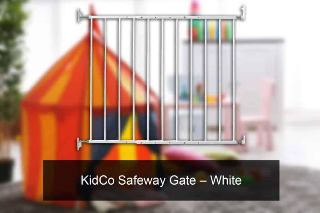 KidCo Safeway Gate – White